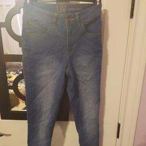 Liv Jeans size 0 high-waist